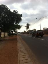 Main road outside of Abela