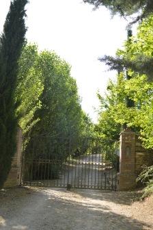 Villa entrance