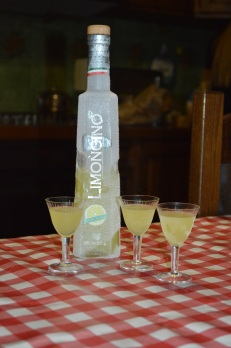After party limoncello