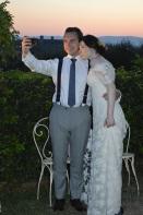 newlywed selfie.
